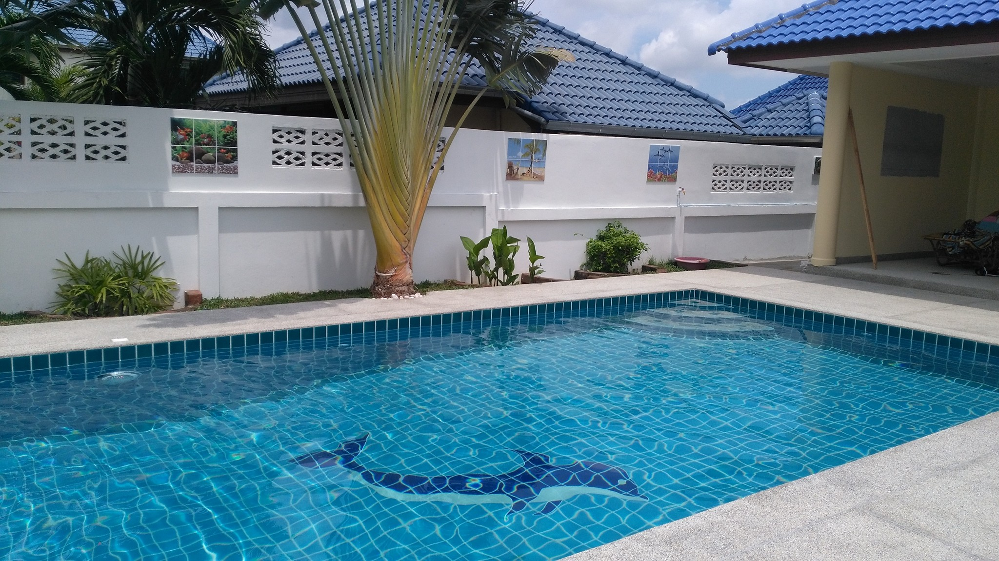 Luxury Swimming Pool In Bang Sarery Pobchck Garden Hill